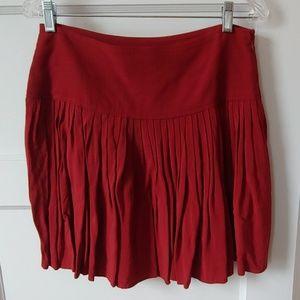 Loft pleated mini skirt Size 8